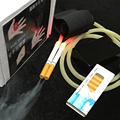 Electrónica De control remoto de Doble tubo de aerosol dispositivo de humo (10 Cartuchos de Humo) humo mágico props trucos de magia de La Niebla Ultra Automática