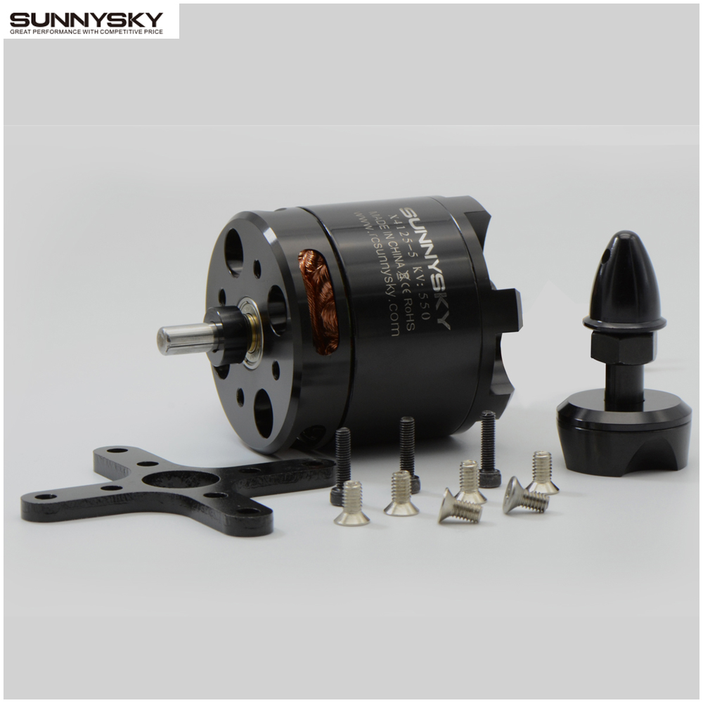 SUNNYSKY X4125 KV465 550KV 6S high efficiency brushless motor Fixed wing motorSUNNYSKY X4125 KV465 550KV 6S high efficiency brushless motor Fixed wing motor