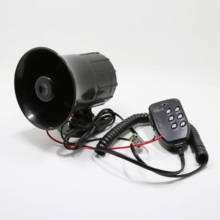 New Air Horn Siren Speaker for Auto Car Boat Megaphone with Loud 12V 6 Sounds