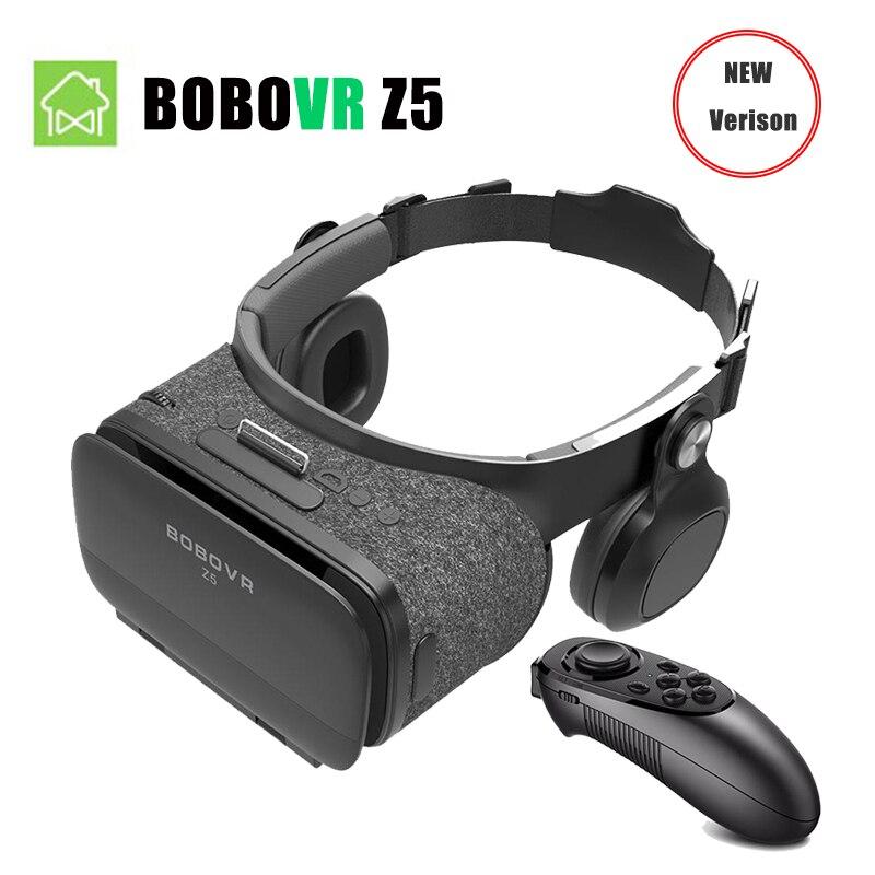 NEW BOBOVR Z5 Wireless Version Virtual Reality 3D VR glasses FOV120 VR Headset 3D VR Glasses