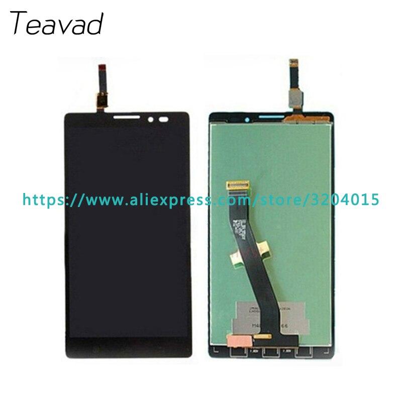 10 шт./лот высокого качества 5.0 ''для Lenovo VIBE Z K910 ЖК-дисплей Экран дисплея с Сенсорный экран планшета Ассамблея Ремонт Запчасти