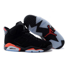 94d98f18448 Jordan Air Retro 6 VI Men Basketball Shoes Oreo Angry Bull Carmine Infrared  Athletic Man Trainer