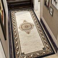 Длинные толстый ковер Спальня дома вход/коврик для прихожей ковровая дорожка в коридор элегантный Полипропиленовый Коврик Спальня Уилтон