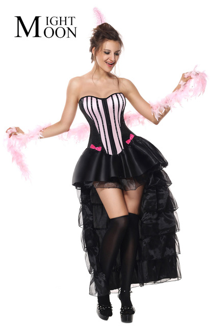 MOONIGHT Sexy Women Halloween Costume Dancing Party Dress Costume Carnival Adult Burlesque Costume Fancy Dress  sc 1 st  AliExpress.com & MOONIGHT Sexy Women Halloween Costume Dancing Party Dress Costume ...
