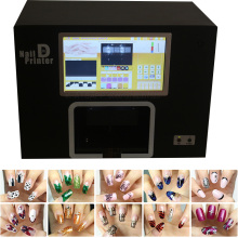 Digital Nail printer and flower printer 5 hand nails printing at same time support upload images