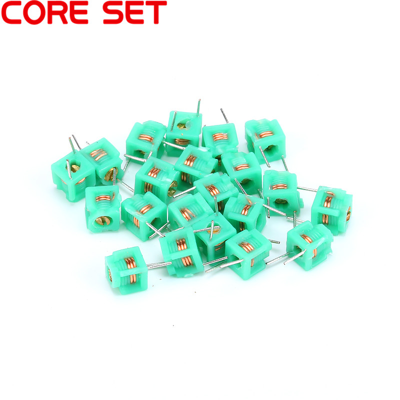 50PCS/Lot MD0505 5*5-2.5T Inductors Adjustable Hollow Coil Inductance Molded Inductor 5 * 5