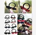 Nueva llegada utensilios de doble pequeña arco vendas elásticos del pelo accesorios para el cabello para mujer te hacen moda