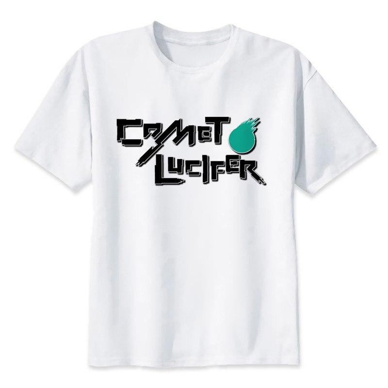 lucifer t shirt Men Print T-Shirts Fashion Print T-Shirts Short Sleeve O Neck Tees MMR458