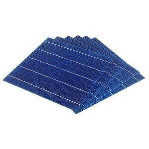 Image 4 - 20 pces 4.5 w uma categoria 156mm fotovoltaico policristalino célula solar 6x6 para o painel solar do pv
