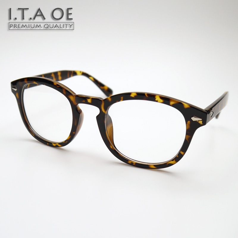 ITAOE Johnny Depp Classical Fashion Design Acetate Men Optical Eyewear Frames Glasses Spectacles Myopia Reading