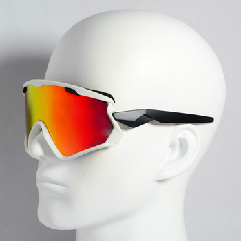 d5058384cd 2018 de las mujeres de los hombres 3 lente deporte al aire libre bicicleta  gafas ciclismo gafas de sol Cyling gafas de ciclismo de nieve gafas