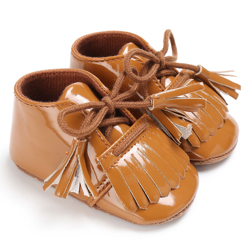 WONBO 2019 Baby First Walkers Fashion Baby Shoes Baby Moccasins Non-slip Fringe Toddler Shoes Soft Infants Crib Shoes