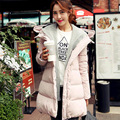 Thicken Winter Maternity Clothing Fashion Long Hooded Women Fur Coat Duck Down Maternity Jacket Quality Manteau Grossesse Casaco