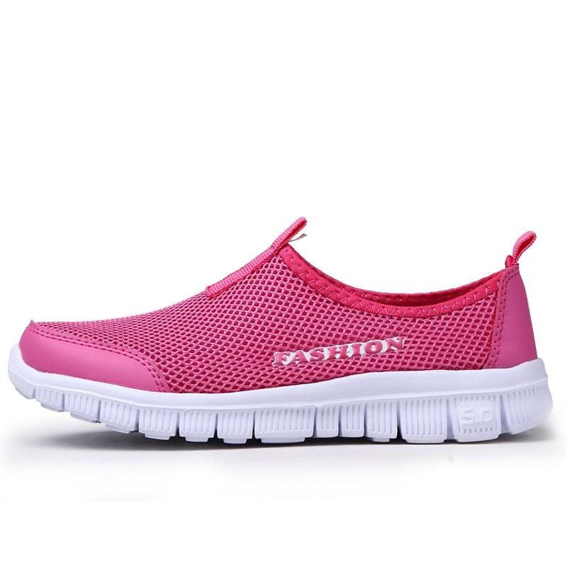 2016 Новые Летние Ботинки Женщина Сеть Мягкой Дышащей Обуви 4 Цвета Перевозка Груза Падения