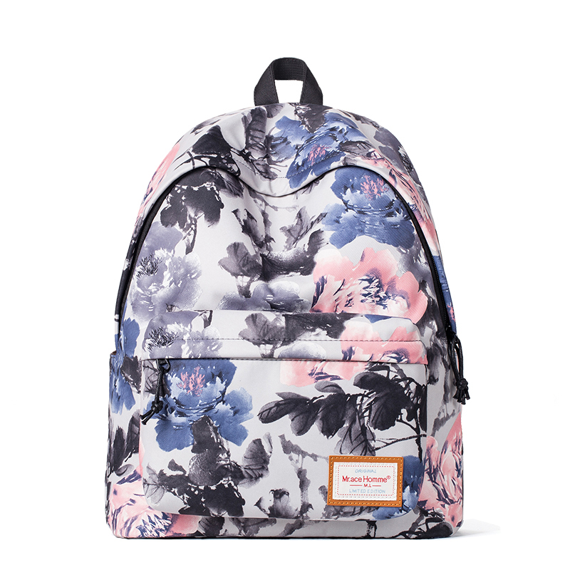 2016 Fashion Chinese Style Youth Backpack Female Male Travel Bags Vintage Bagkpack Children School Bags Mochila