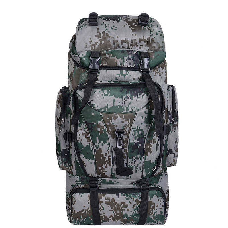 70L Big capacity Men Women 3P Military Tactical Backpack Large Camping Hiking Fishing Hunting Tourist Backpack Outdoor Molle Bag hot 3p 40l aterproof molle backpack military tad tactical backpack assault travel bag for men women tactical hunting backpack