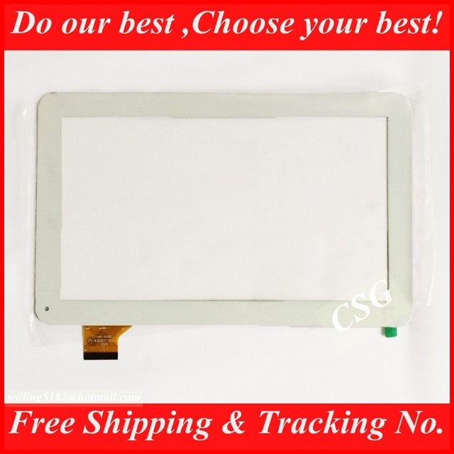 """White Color Original & New 10.1"""" Ainol Novo NUMY 3G AX10T Touch Screen Digitizer Glass Panel MT8312 Dual-Core Repair Touch Panel"""