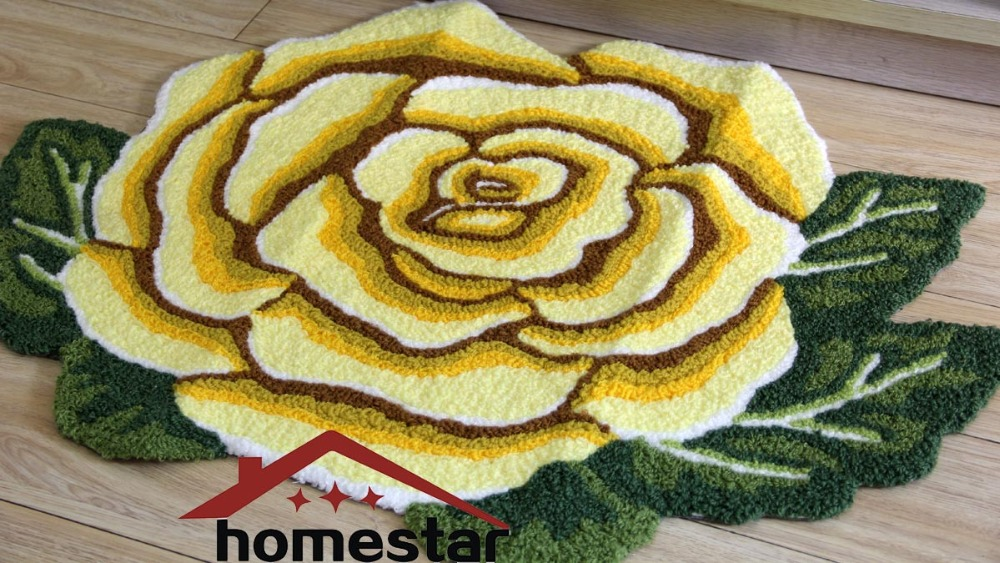 Embroidery flower floor mat embroidered rug livingroom bedroom embroidery flower floor mat embroidered rug livingroom bedroom carpet floral decorative rugs bath mat table runner doorway mat in mat from home garden on mightylinksfo