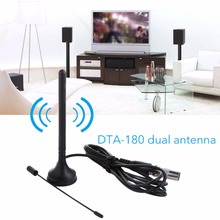 DTA 180- Indoor Digital TV Stick Aerial HD Freeview Mini Antenna Receiver Portable Magnetic Base