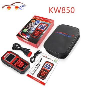 KONNWEI KW850 ODB2 Scanner Auto Diagnostic Scanner Full Function Car Diagnosis Car Scanner Universal OBD Engine Code Reader