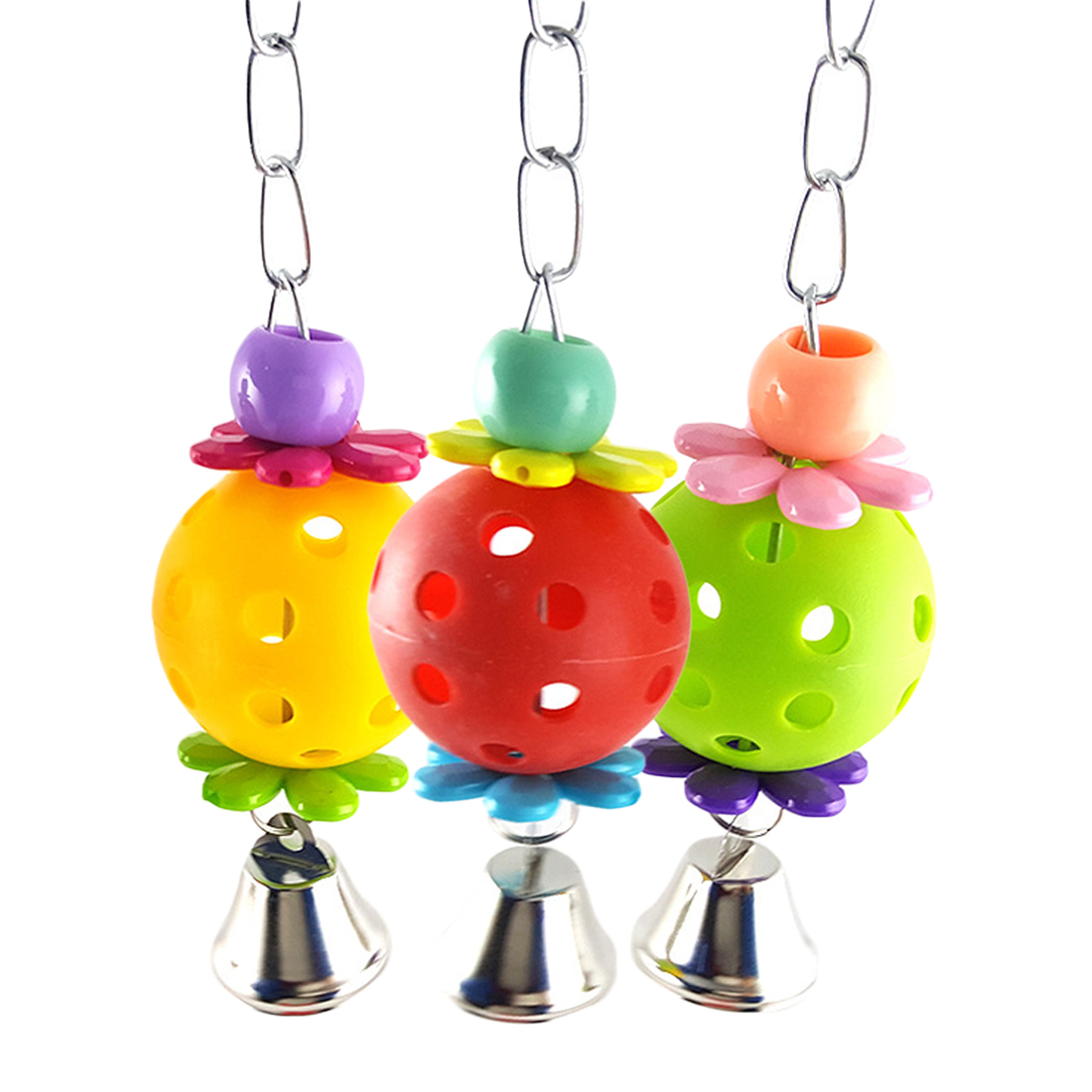Hanging Bell Cage Decoration for Parrot
