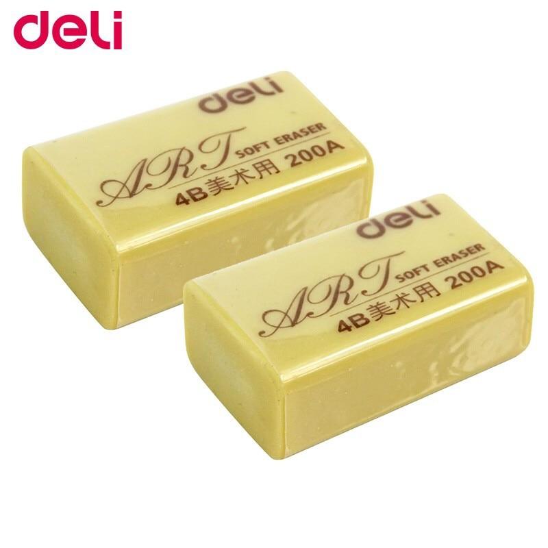 Deli Stationery Deli 7535 Eraser Large Drawing Rubber 4b 200a Art Soft Eraser