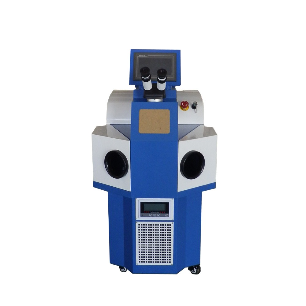 200w big power Laser Welding Machine with Engineers available to service machinery overseas for gold silver brass