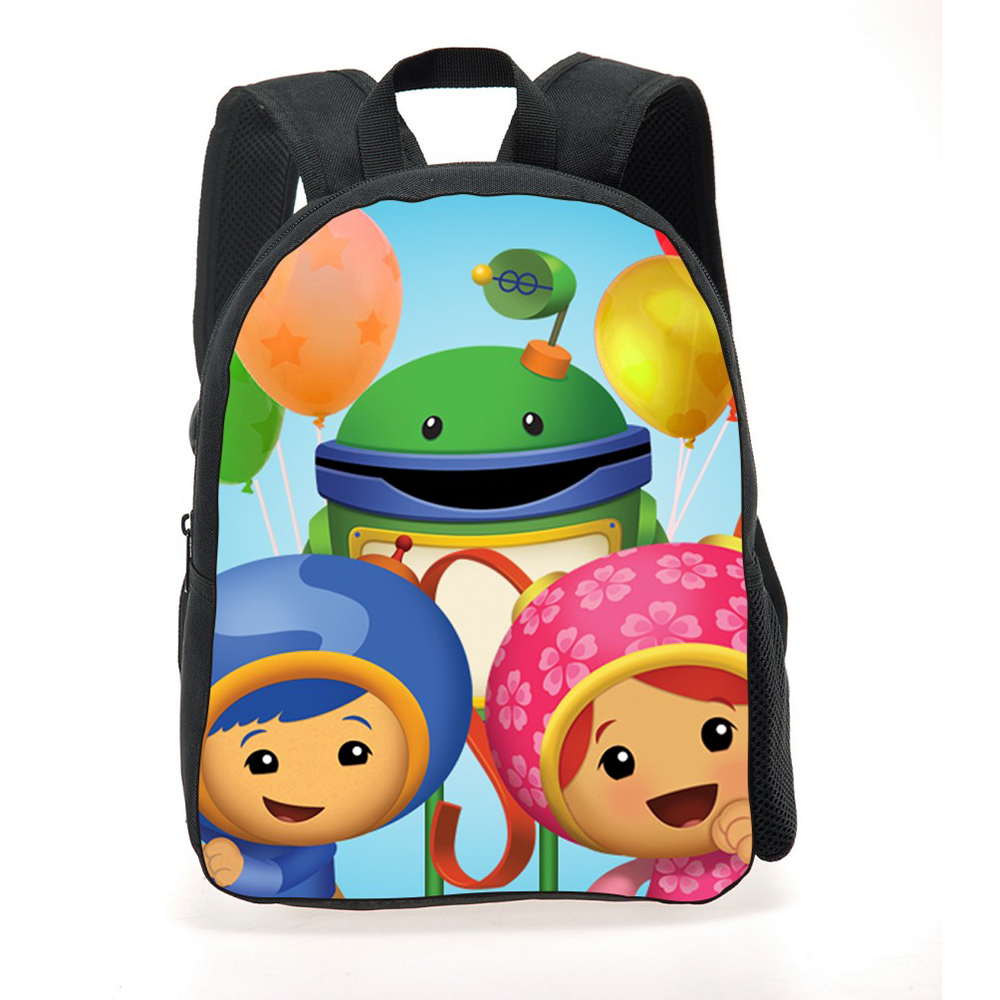 New Fashion Cartoon Backpack Children Student Team Umizoomi Schoolbag Boys  Girls Travel Bag Mochila Kids School Daily Backpacks-in School Bags from  Luggage ... c1a59bfb8e