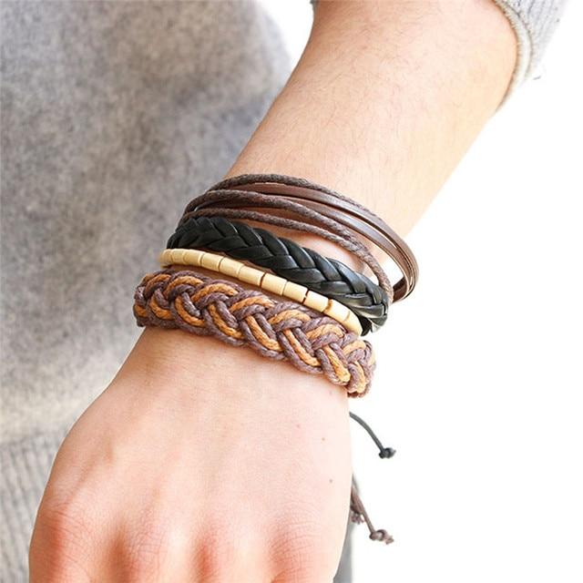 brixini.com - Arjun™ The Leather Bracelets