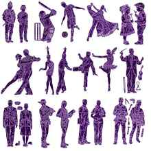 Zumba Tango Cha Tap Dancer Violinist Band Engineer Navy Teacher For DIY Scrapbooking Embossing Paper Cards Crafts 2019 New