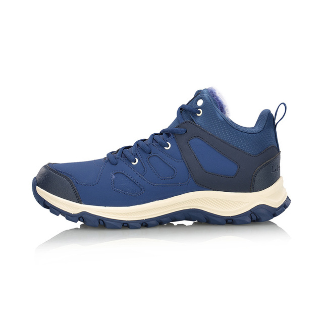 Li-Ning Men Hiking Boots Hi Hiking Shoes WARM SHELL Classic Winter Walking Sneakers Comfort LiNing Sports Shoes AGCM189 YXB101 4