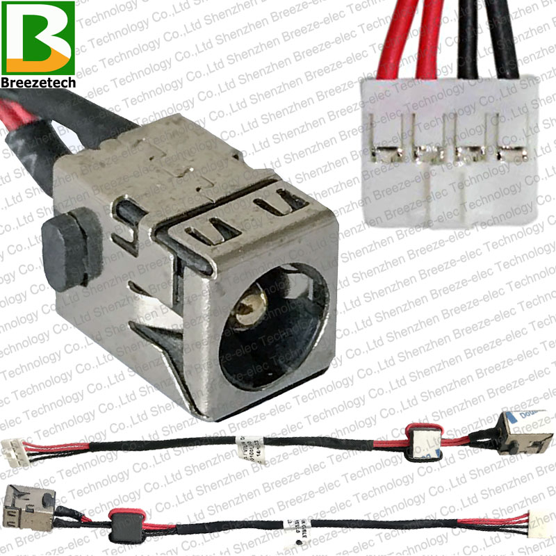 Original New Laptop DC POWER JACK Socket Cable Charging Connector For Lenovo IdeaPad S300 S400 S405 S410 S415 14