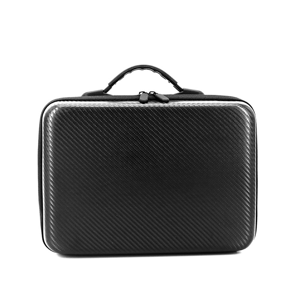 TELESIN Waterproof Carrying Case Portable PU Carry Hard Case Suitcase Travel Storage Handbag for DJI Mavic Air and Accessories