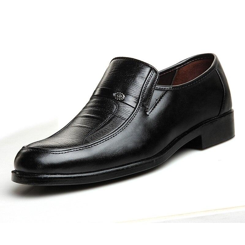Alta Sapato Da Luxo Moda Ms8116186 Confortável Couro Homens Designer Social Qualidade Sapatos De Primavera xXT0AP