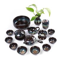 Chinese Kung Fu Tea Set Ceramic Portable Teapot Teacup Gaiwan Porcelain Teaset kettles Teaware Sets Drinkware Accessories