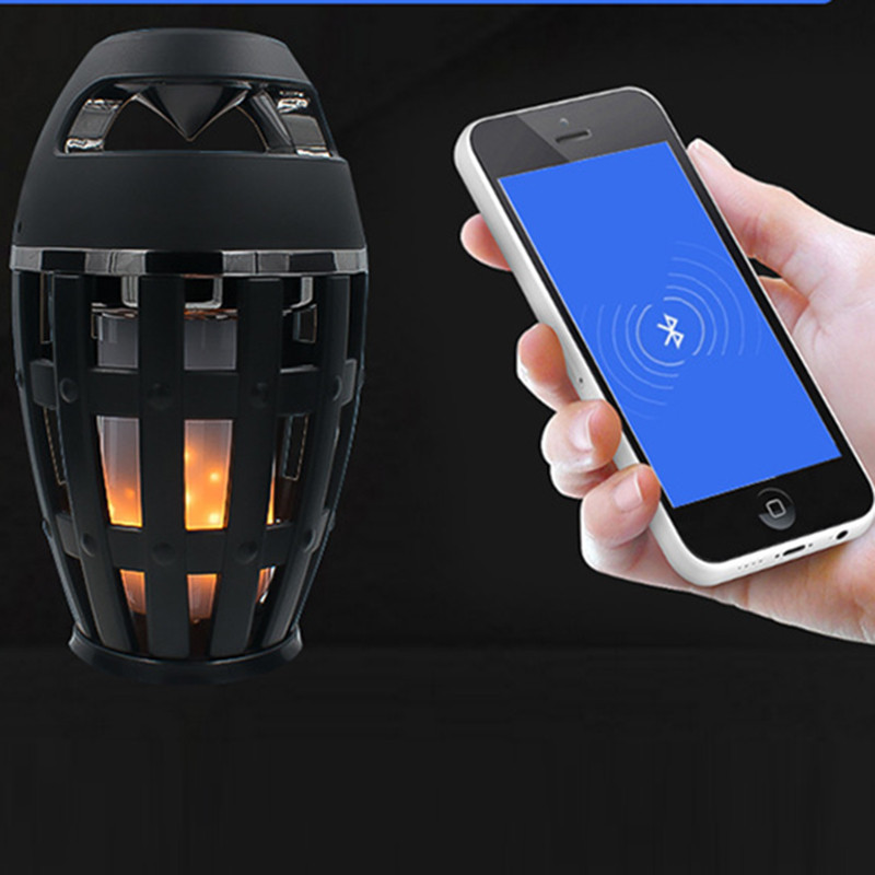 DOITOP Portable LED 5W Mini Bluetooth Stero Speaker HiFi Sound Waterproof Loudspeaker For Smart Device With Bluetooth 4.0 + B3