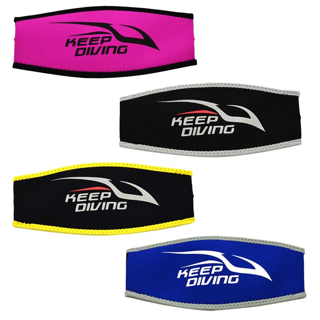 Comfort Neoprene Diving Scuba Mask Strap Protector de la cubierta - Deportes acuáticos