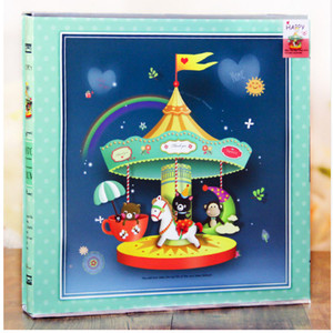 Image 2 - 640 Sheets Photo Album with Gift Box General Interleaf Type Children Photo Album Transparent PVC Pages for 5 6 7 8 Inch Picture