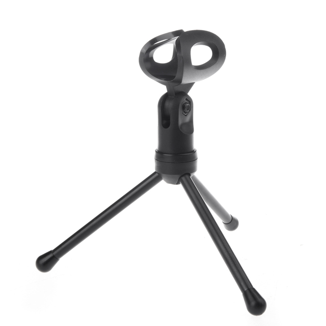 With Holder Stand Clip For PC Chatting Singing Karaoke Laptop 3.5mm Audio Wired Stereo Condenser SF-666 Microphone