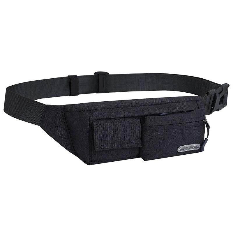 Free Knight Unisex Sport Waist Bag Jogging Running Bag Cycling Waist Pack Waterproof Waist Belt Pack Phone Bag Outdoor Pou