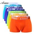 ARNO 7 Pcs/Lot Week Brand New Sexy Underwear Men Spandex Underpants Mens Viscose Boxer 7 Colors Hommes Boxeur, MTU50906-7C