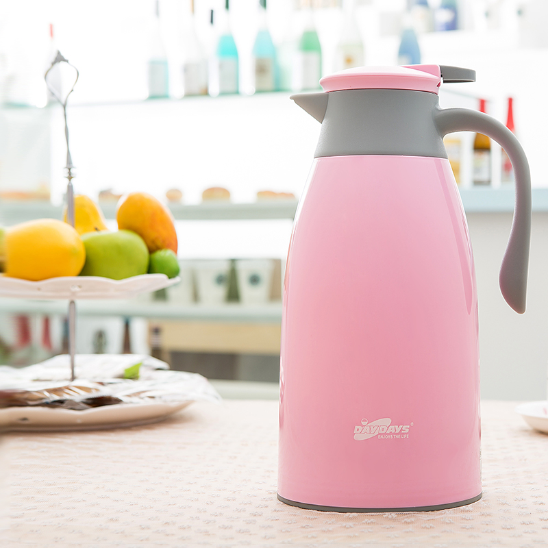 Airpots domestic large capacity thermal insulation kettle Thermos Bottle Thermos thermos glass liner European hot water bottle household thermos pot 2l large capacity 304 stainless steel european vacuum insulation kettle cup thermos bottle
