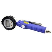 Многократное использование цифровой насос для накачивания велосипедных шин манометр инструмент для автоматического ремонта