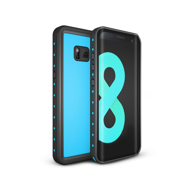 timeless design d54dc 18161 Waterproof Case Cover for Samsung S8 Plus 360 Degree Protection Shockproof  S8P S8+ Swimming Diving