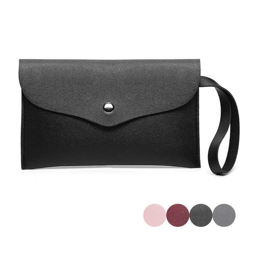 Women PU Leather Handbag Phone Coin Small Purse Long Wallet Bag LBY2017