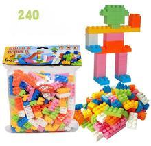 240pcs/set BOHS Classic Bricks Junior collection Models & Building Toy Plastic Blocks DIY Educational