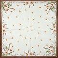 Guarantee 100% Silk Scarf Square Women Scarf Dandelion Flower Small Square Silk Scarf 50cm 2017 Female Bandana Office Lady Gift