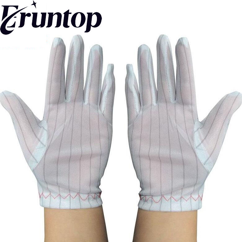 1 pairs Anti-Static Safety Gloves for PC Building Electronic Repairing