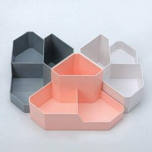YiCleaner косметическая коробка для хранения, органайзер для макияжа, угловая настольная коробка, пластиковый домашний контейнер для хранения