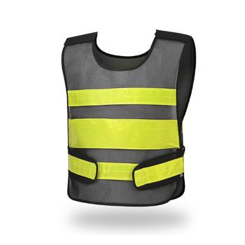 Kamizelka odblaskowa wysokiej widoczności odzież robocza dla mężczyzn kombinezony kamizelka policyjna spawacz kurtka z krótkim rękawem do pracy tanie i dobre opinie Narzędzie i bezpieczeństwa Unisex DKD008 Octan Akrylowe Odblaskowe Dzianiny Topy